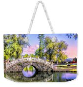 Bridges At Liliuokalani Park Hilo Weekender Tote Bag
