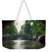 Bridges In Amsterdam Weekender Tote Bag