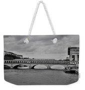Bridges In Paris Weekender Tote Bag