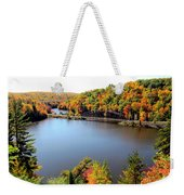 Old Bridge, New Bridge Weekender Tote Bag