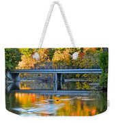 Bridges Of Madison County Weekender Tote Bag