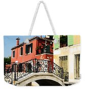 Bridges Of Venice Weekender Tote Bag