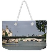 Bridges Over The Seine And Conciergerie - Paris Weekender Tote Bag