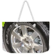 Bridgestone Tire Weekender Tote Bag