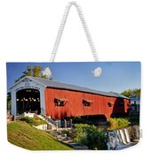 Bridgeton Covered Bridge 3 Weekender Tote Bag