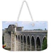 Bridging The Boyne Weekender Tote Bag