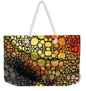 Bridging The Gap - Stone Rock'd Art Print Weekender Tote Bag