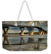 Bridging Vermont And New York Weekender Tote Bag