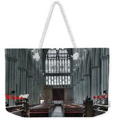 Bridlington Abbey Weekender Tote Bag