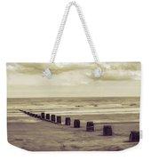 Bridlington Beach Weekender Tote Bag