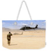 Brigade Aviation Officer Salutes Weekender Tote Bag