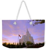 Brigham City Temple I Weekender Tote Bag