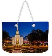 Brigham City Temple Twilight 1 Weekender Tote Bag