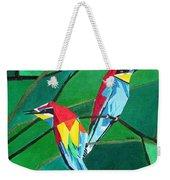 Brighly Colored European Bee-eaters Weekender Tote Bag