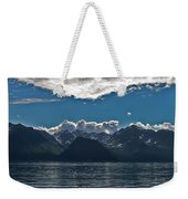 Bright And Cloudy Weekender Tote Bag