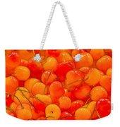 Bright And Orange Weekender Tote Bag