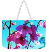 Bright Blossoms Weekender Tote Bag