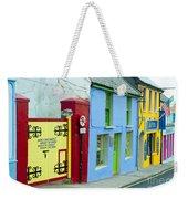 Bright Buildings In Ireland Weekender Tote Bag