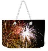 Bright Bursts Of Fireworks Weekender Tote Bag