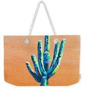 Bright Cactus Weekender Tote Bag