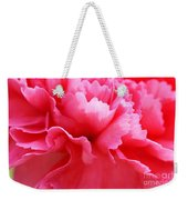 Bright Carnation Weekender Tote Bag