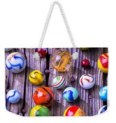 Bright Colorful Marbles Weekender Tote Bag