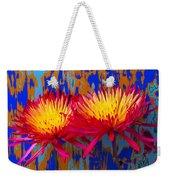 Bright Colorful Mums Weekender Tote Bag