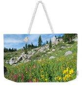 Bright Colors Of A Colorado Summer Weekender Tote Bag