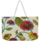 Bright Contemporary Floral  Weekender Tote Bag