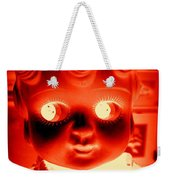 Bright Eyed Kewpie Weekender Tote Bag