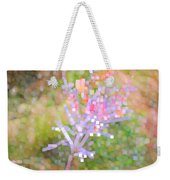 Bright Flower Weekender Tote Bag