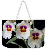 Bright Miltonia Orchids Weekender Tote Bag