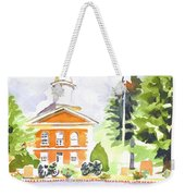 Bright Morning At The Courthouse Weekender Tote Bag
