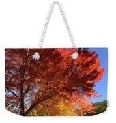 Bright Orange Of Fall Weekender Tote Bag