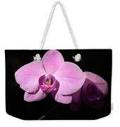 Bright Orchid Weekender Tote Bag