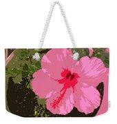 Bright Pink Weekender Tote Bag