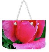 Bright Pink Tulip In Kuekenhof Flower Park-netherlands Weekender Tote Bag