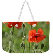 Bright Poppies 1 Weekender Tote Bag