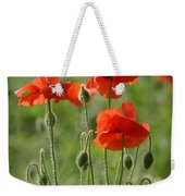 Bright Poppies 2 Weekender Tote Bag