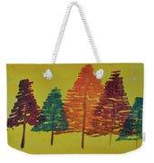 Bright Trees Weekender Tote Bag