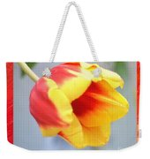 Bright Tulip Weekender Tote Bag