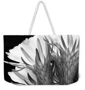 Brilliant Blossoms Diptych Left Weekender Tote Bag
