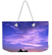 Brilliant Blue Sunrise Weekender Tote Bag