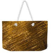 Brilliant Gold And Gems And Jewels Weekender Tote Bag