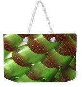Brilliant Green Abstract 6 Weekender Tote Bag