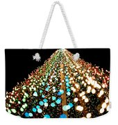 Brilliant Lights Weekender Tote Bag