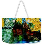 Brilliant Mountain Colors In Reflection Weekender Tote Bag