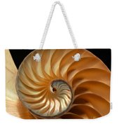 Brilliant Nautilus Weekender Tote Bag