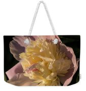 Brilliant Spring Sunshine - A Showy Pink Peony From My Garden Weekender Tote Bag