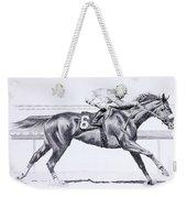 Bring On The Race Zenyatta Weekender Tote Bag